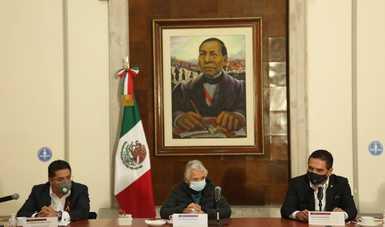 Palabras de la secretaria de Gobernación, Olga Sánchez Cordero, en la reunión con un grupo del magisterio del estado de Michoacán