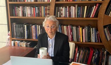 Palabras de la secretaria de Gobernación, Olga Sánchez Cordero, en el evento 'Abordar la violencia doméstica en el contexto de C-19'
