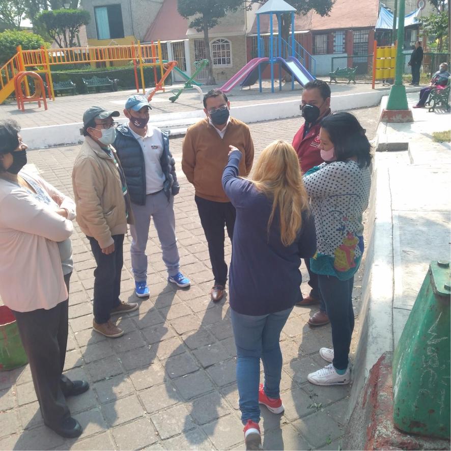 Recuperación de espacios públicos en Azcapotzalco