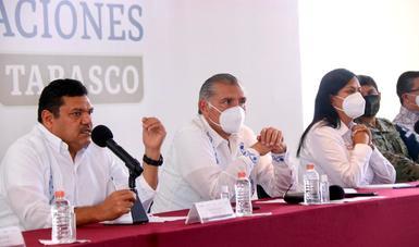 Inicia Gobierno de México entrega de apoyos a damnificados por inundaciones en Tabasco