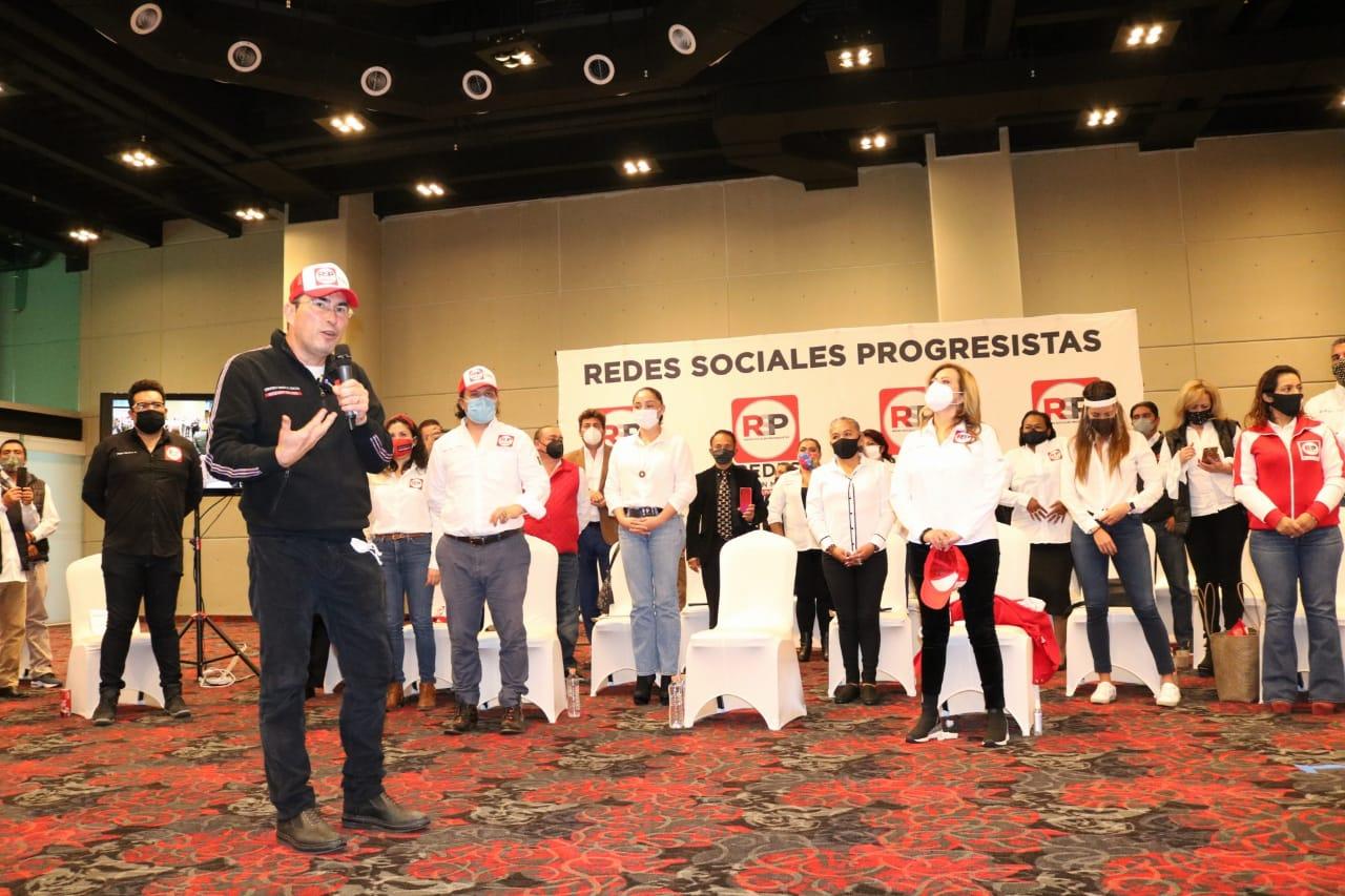 RSP-CDMX inicia etapa de pre-registro de sus aspirantes a cargos de elección popular