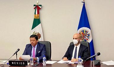 México es reelecto como secretario pro tempore del Comité Consultivo de la CIFTA