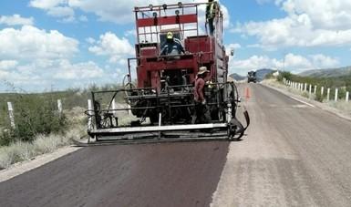 Comprometido el 79 por ciento de los recursos del Programa Nacional de Conservación de Carreteras 2021