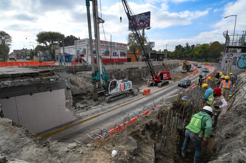 Gobierno capitalino invirtió en 2020 más de 8 mil mdp en obras para mejorar la movilidad en la Ciudad de México