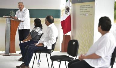 Gobierno federal ampliará carretera de la Costa Grande de Guerrero, anuncia presidente en Atoyac