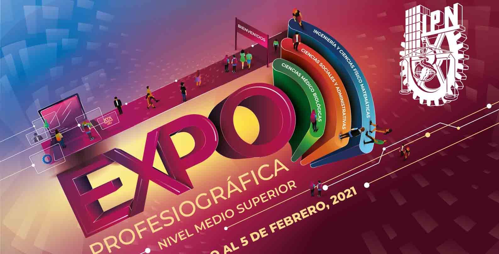 Presentará IPN oferta educativa del Nivel Medio Superior en la Expo Profesiográfica virtual