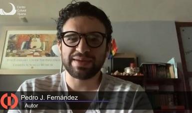 Recrea Pedro J. Fernández el amor entre Margarita Maza y Benito Juárez en libro presentado por el Cecut