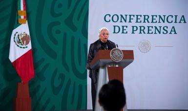 Presidente López Obrador se encuentra en pleno ejercicio de sus funciones, afirma secretaria de Gobernación