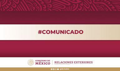 Posición de México ante la situación en Myanmar