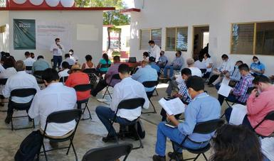 Gobierno de México realiza asamblea de seguimiento de consulta indígena sobre Tren Maya en Tenosique