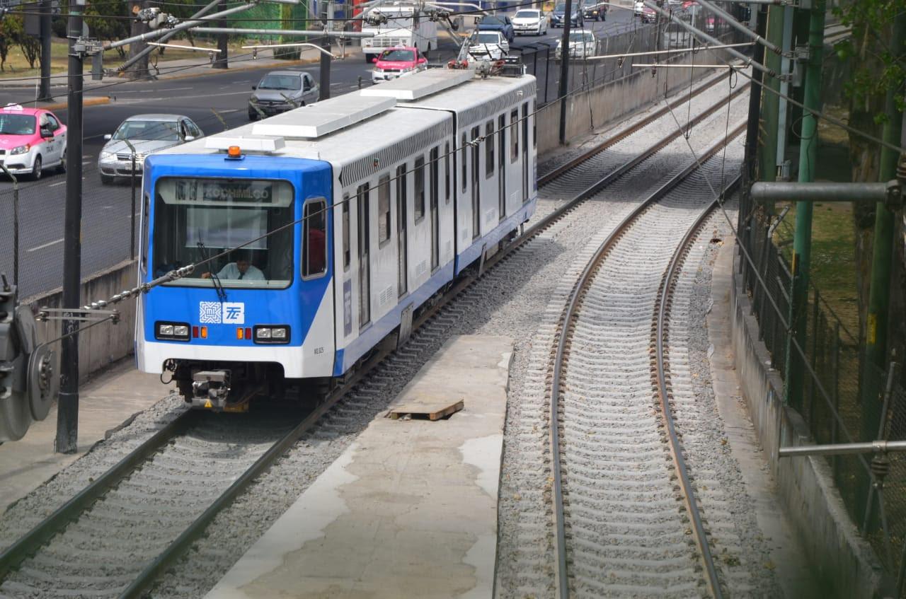 Dedica Jefa de Gobierno reactivación de segundo tramo del Tren Ligero, Xochimilco-Estadio Azteca, a Avelino Méndez Rangel
