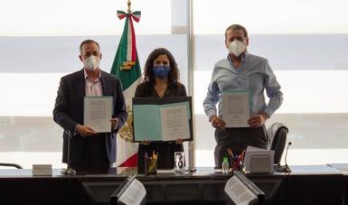 La firma del acuerdo entre Aspa y Aeroméxico democratiza al mundo del trabajo y salvaguarda empleos
