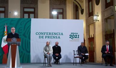 Gobierno de México abre registro para vacunación contra COVID-19 de personas adultas mayores