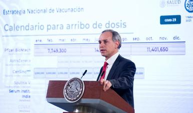 Inicia registro de personas adultas mayores para aplicación de vacuna contra COVID-19