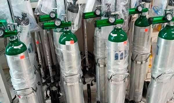 ¡Cuidado! toma en cuenta estas medidas al comprar o usar tanques de oxígeno