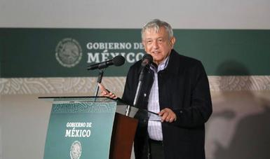 En Baja California Sur, presidente inaugura tramo carretero La Paz – Pichilingue