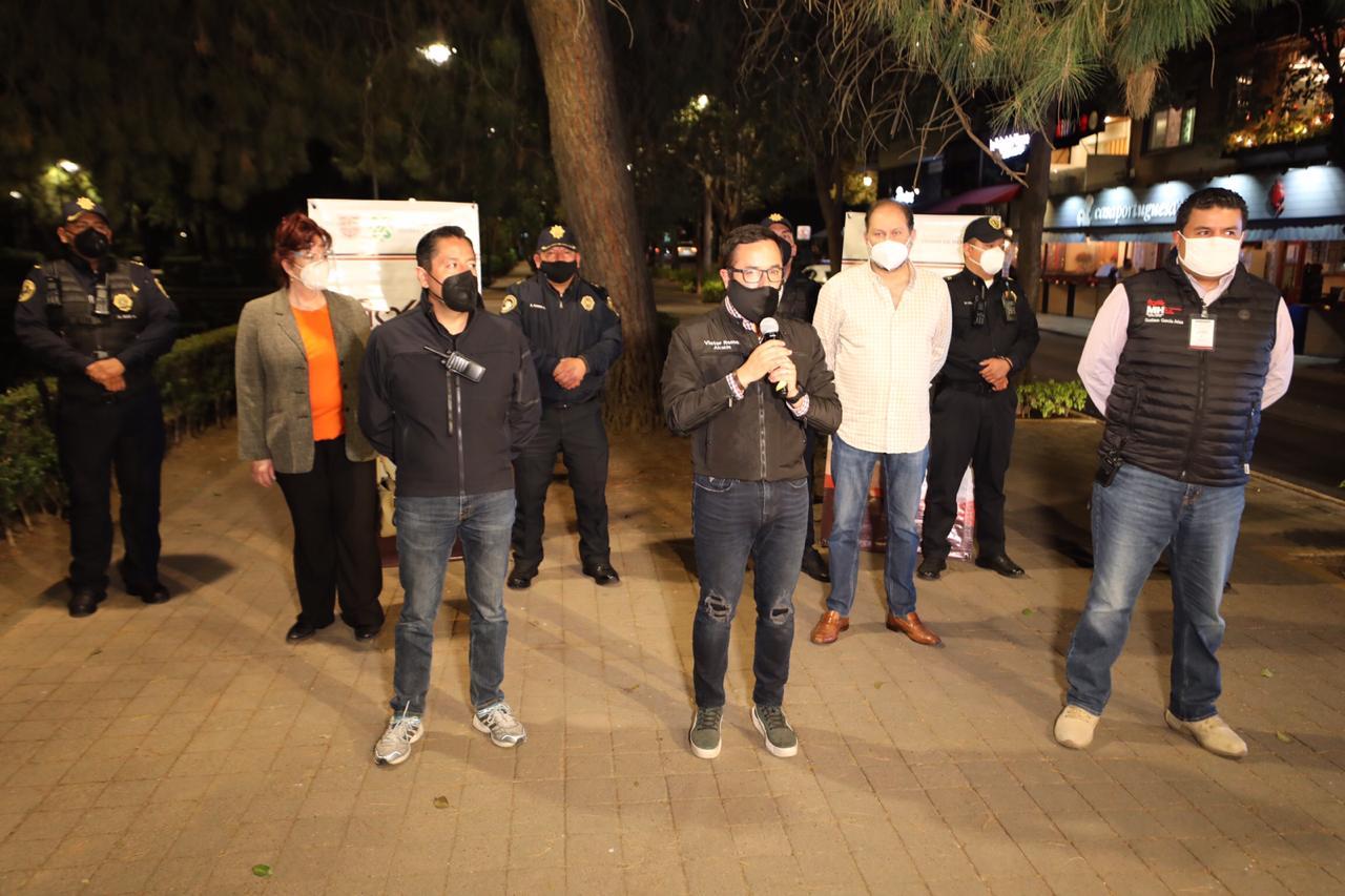 Disipa policía COVID 576 reuniones