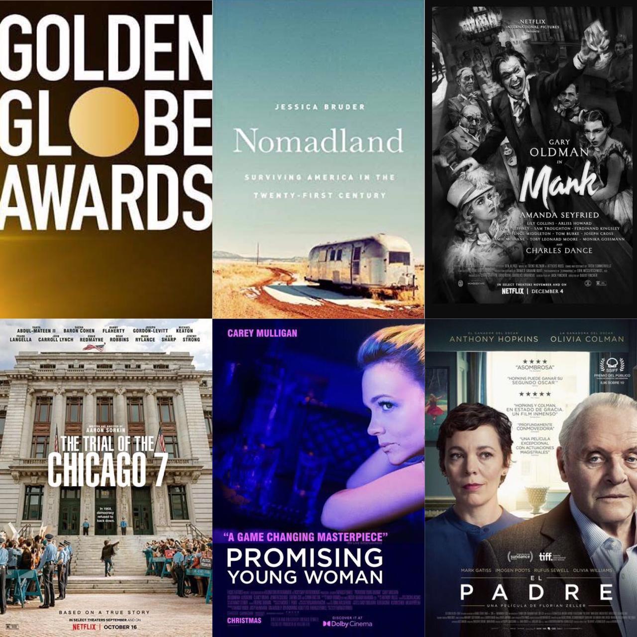 El Film de la Semana  Globo de Oro, nuestra quiniela
