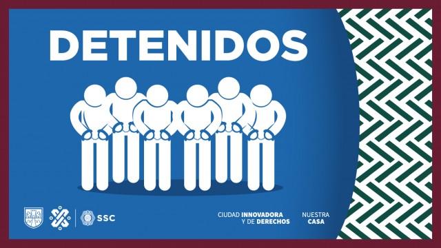 En acciones de combate al delito de narcomenudeo en la alcaldía Álvaro Obregón, efectivos de la SSC detuvieron en puntos diferentes, a cuatro personas en posesión de aparente droga