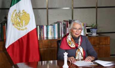 Palabras de la secretaria de Gobernación, Olga Sánchez Cordero, en la Presentación del libro ´Mujeres en el Senado de la República´