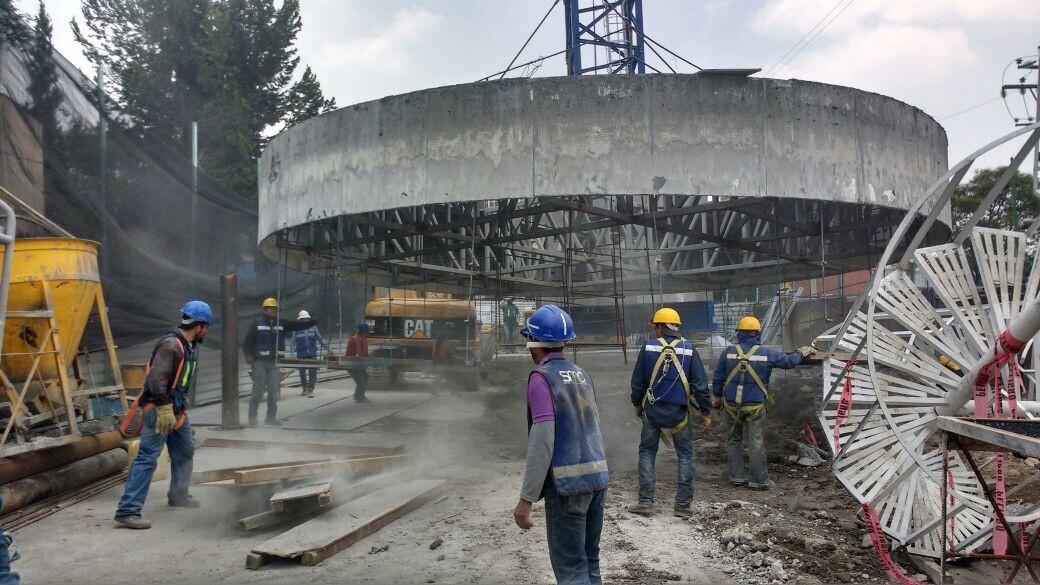 La industria de la construcción en desplome