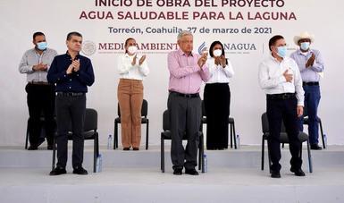Agua Saludable, obra magna que abastecerá por 30 años a La Laguna, afirma presidente