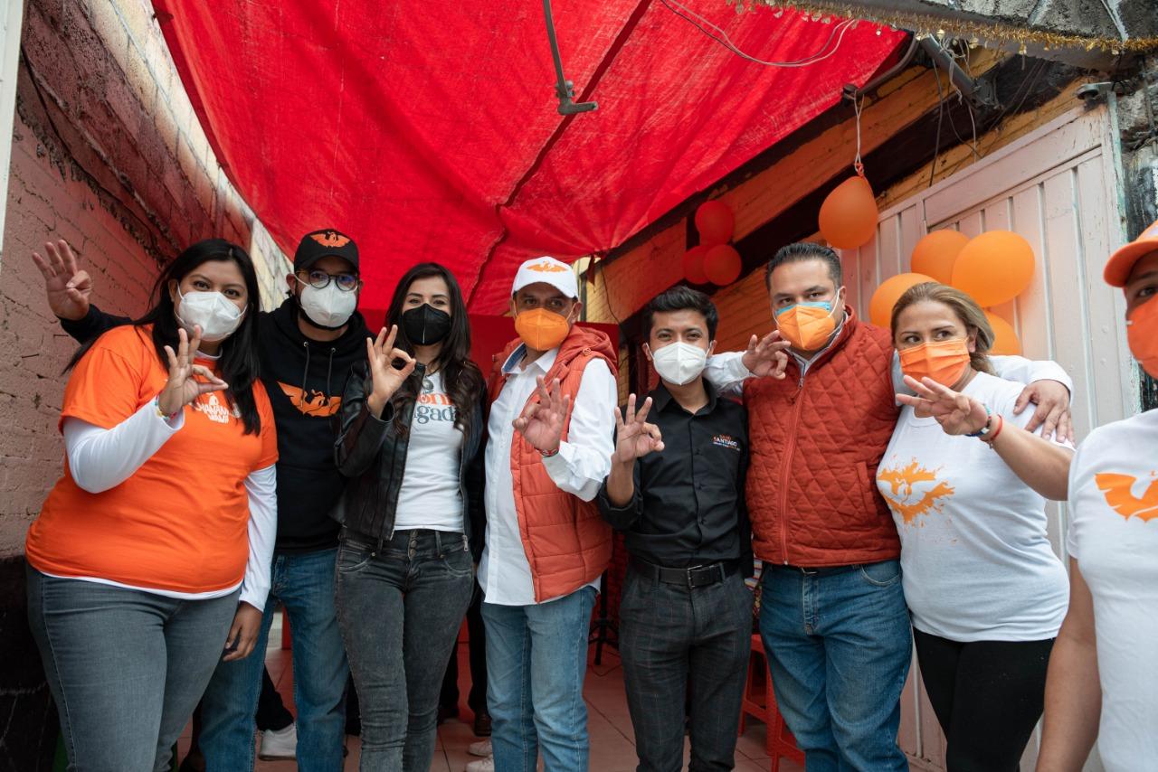Propone Movimiento Ciudadano acabar con cacicazgos en Iztapalapa