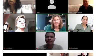 Jóvenes y adultos de la Academia Culmen disfrutan sesión virtual con La OCBA contigo