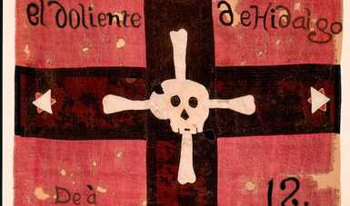Exposición itinerante de banderas históricas llega a Tlaxcala