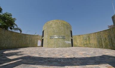 Evocan la exhaustiva investigación desarrollada en la Zona Arqueológica de Xochicalco, en Morelos