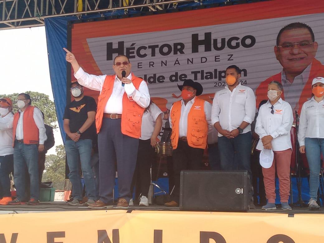 Liderazgos de otros partidos se suman a Movimiento Ciudadano en Tlalpan