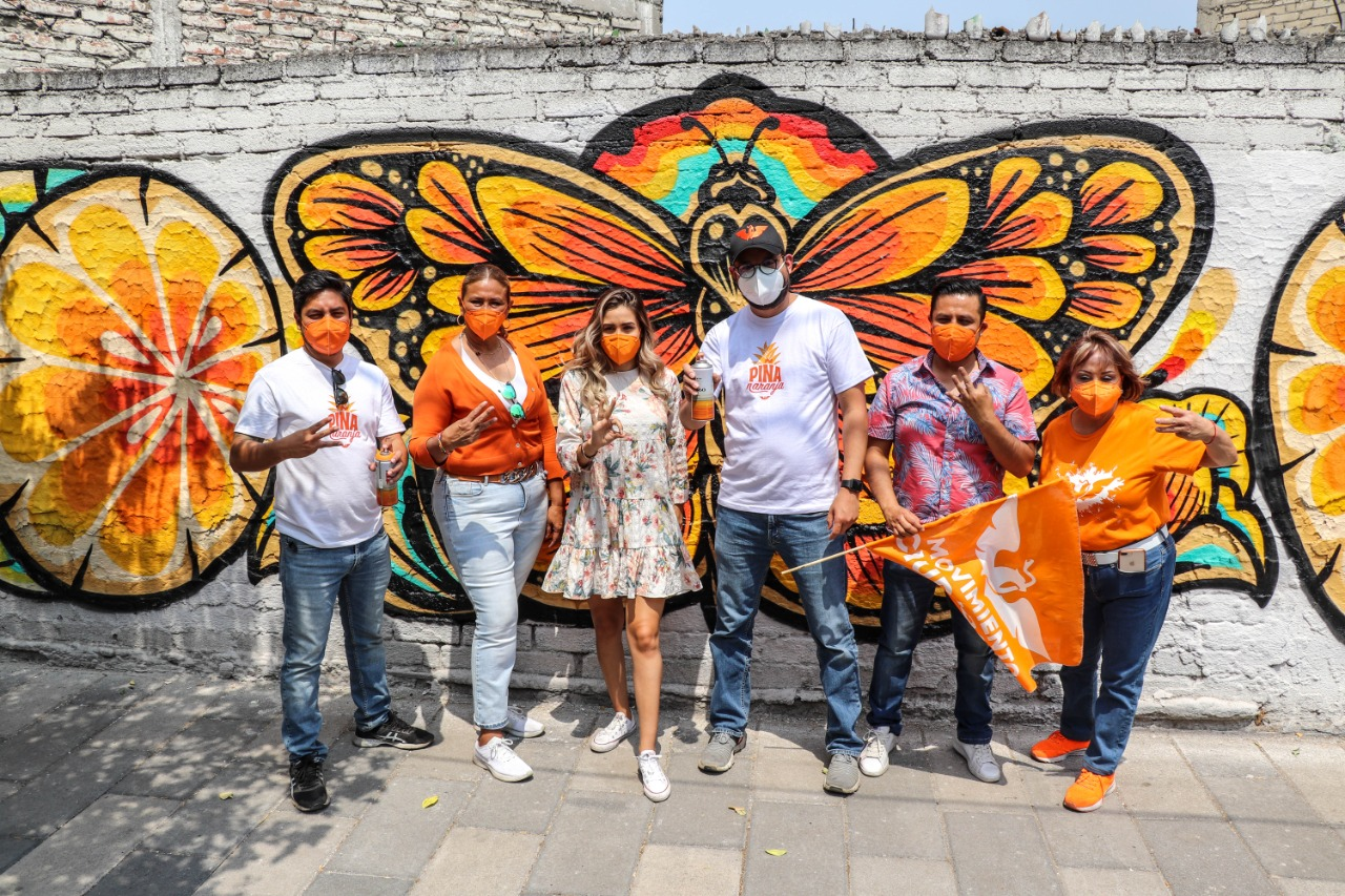 El piña naranja será opción entre los malos y los peores en Venustiano Carranza