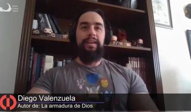 Presentó Diego Valenzuela novela de ciencia ficción en el Cecut