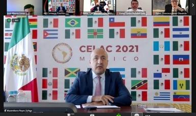 SRE busca impulsar mecanismos que fomenten el comercio exterior en la región de América Latina y el Caribe