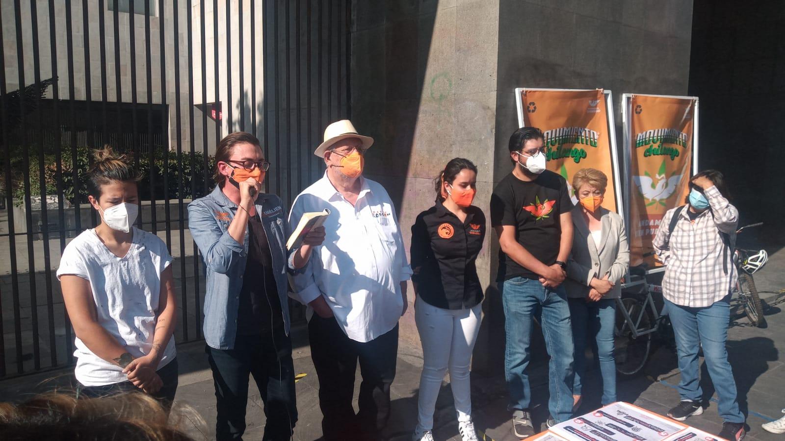 Asume Movimiento Ciudadano causas de los jóvenes en la CDMX