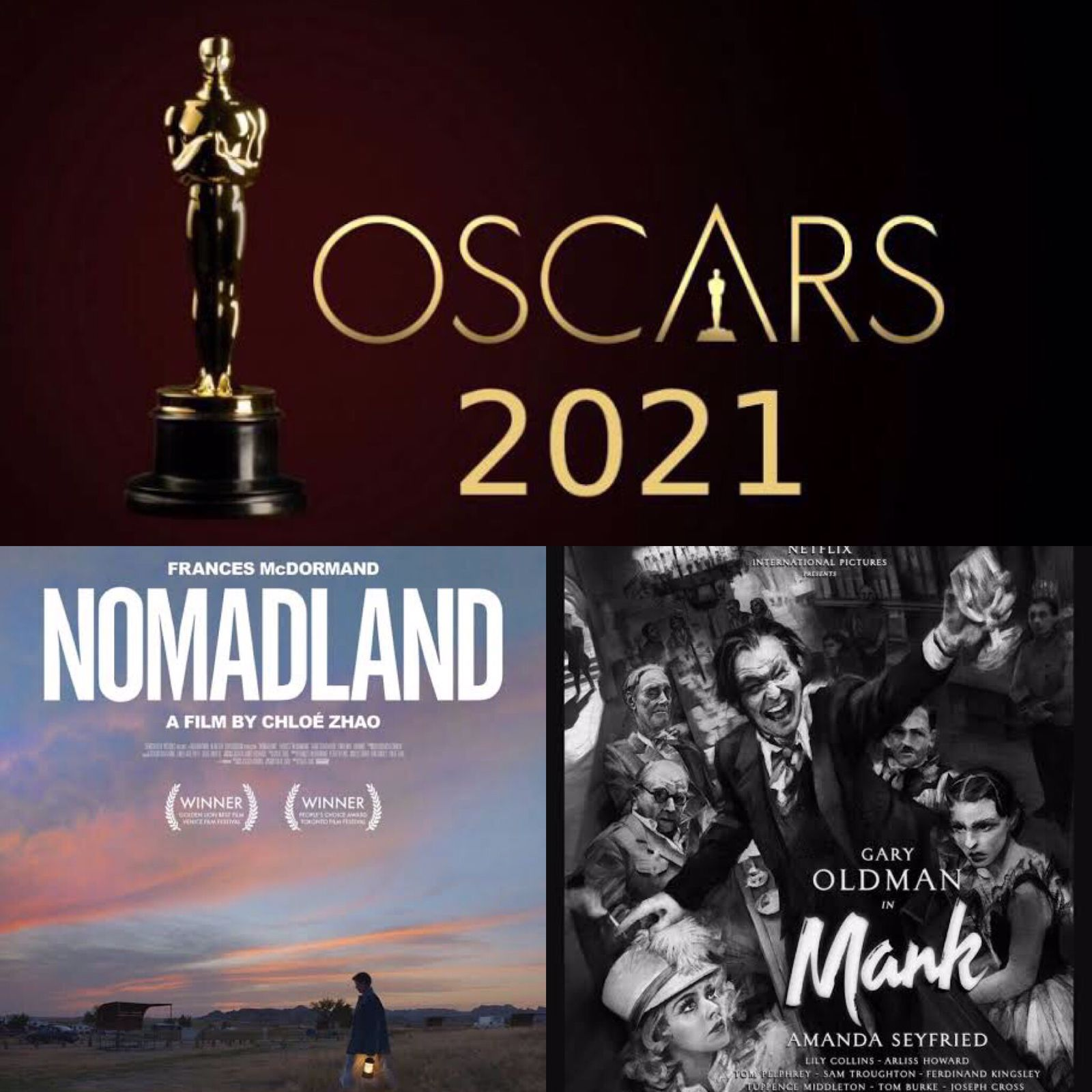 El Film de la Semana - Óscar 2021, ¿quiénes serán los ganadores?