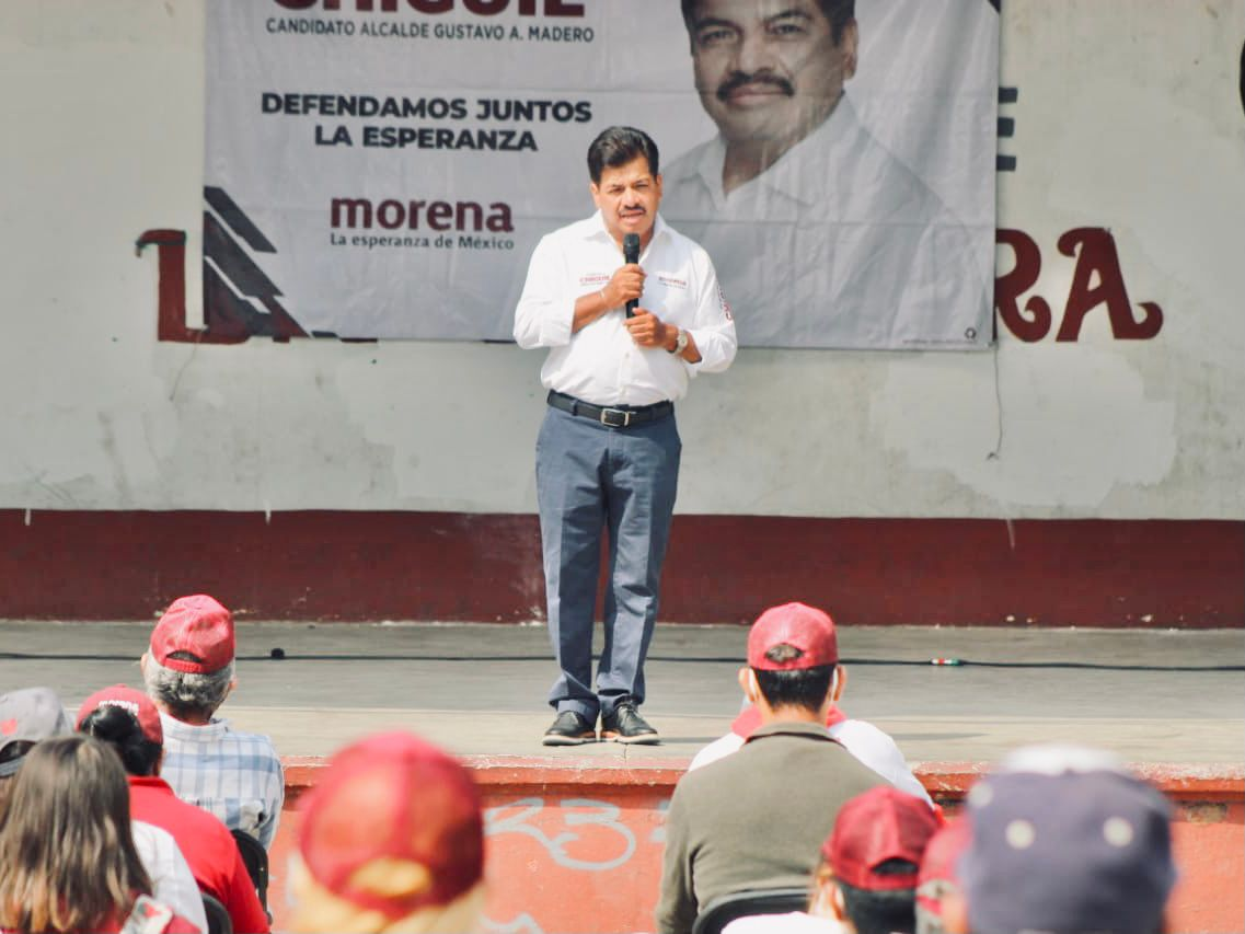 Continuidad al proyecto de transformación en Gustavo A. Madero