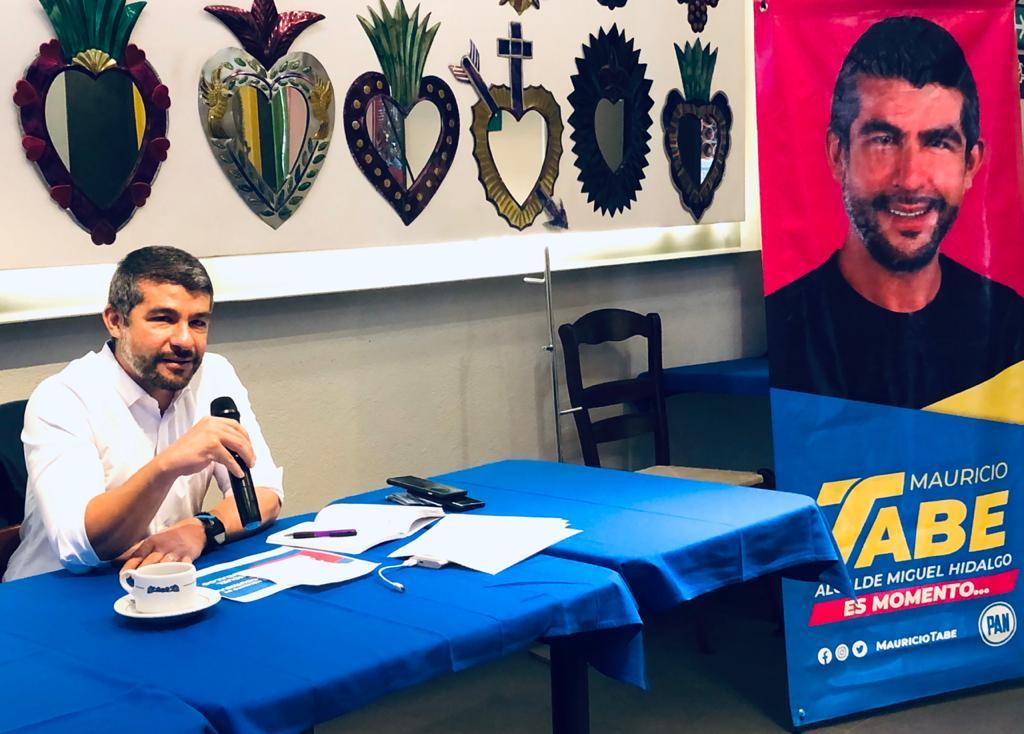 Propone Mauricio Tabe programa escudo MH para abatir la alarmante inseguridad en la alcaldía