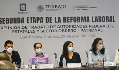 Morelos se alista para dar el banderazo de salida al nuevo modelo de la libertad sindical y justicia laboral