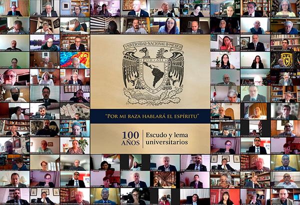 El escudo y lema de la UNAM convocan a la unidad: Graue