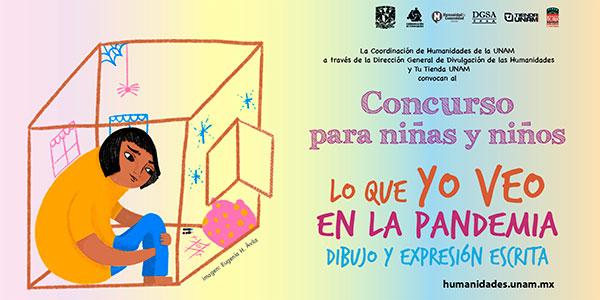 Distingue la UNAM a niñas y niños en dibujo y expresión escrita