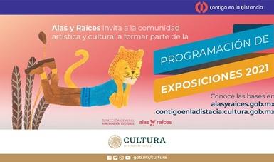Alas y Raíces invita a la comunidad cultural para formar parte de su oferta de Exposiciones 2021