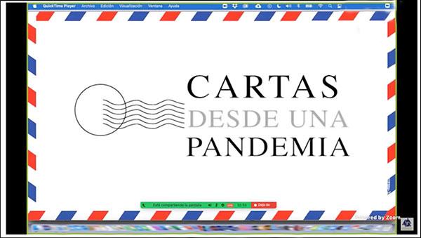 """Presentan """"Cartas desde una pandemia"""", colección editorial de la UNAM"""