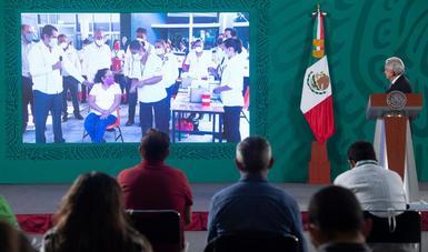 Continúa descenso de casos de COVID-19 y avanza la vacunación en México