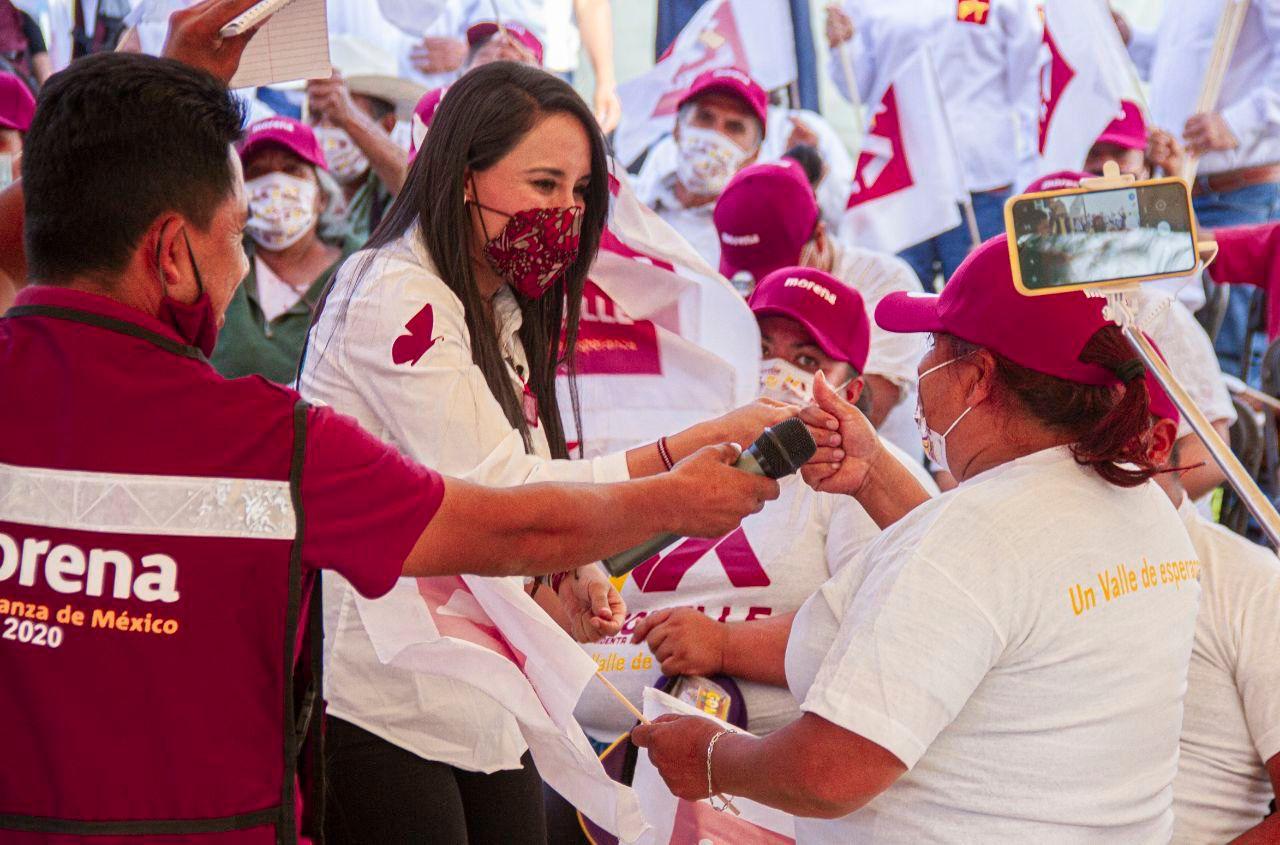 Promete Dra. Michelle Núñez revertir rezago de obra pública e infraestructura deportiva en comunidades de Valle de Bravo