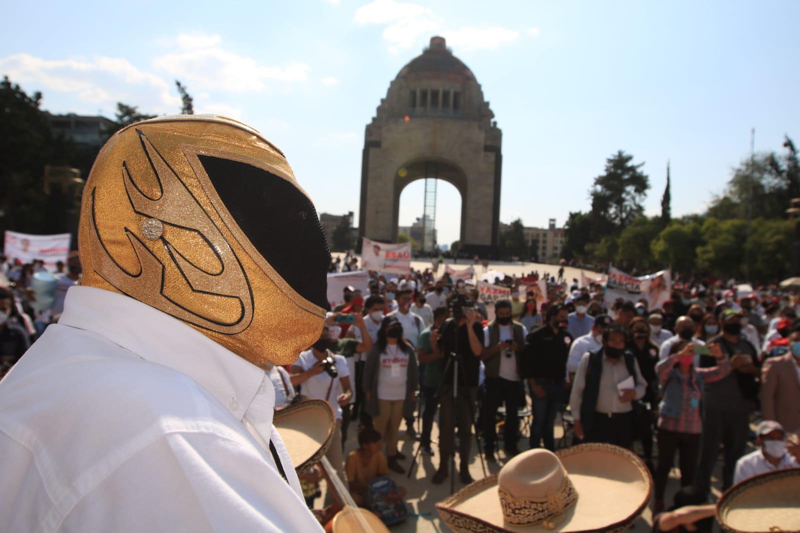 Despierta RSP espectacular fuerza ciudadana en la Cuidad de México