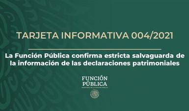 La Función Pública confirma estricta salvaguarda de la información de las declaraciones patrimoniales