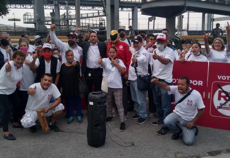 Ricardo Valderrama, candidato a diputado local de RSP en CDMX, se vuelve tendencia en redes sociales