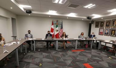 Mensaje inicial de la secretaria de Economía en conferencia de prensa virtual sobre el balance de la primera reunión de la CLC del T-MEC