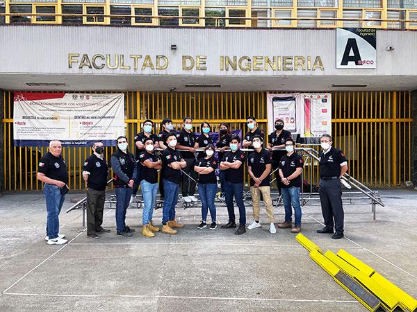 Por primera vez, alumnos de Ingeniería Civil ganan concurso estadounidense